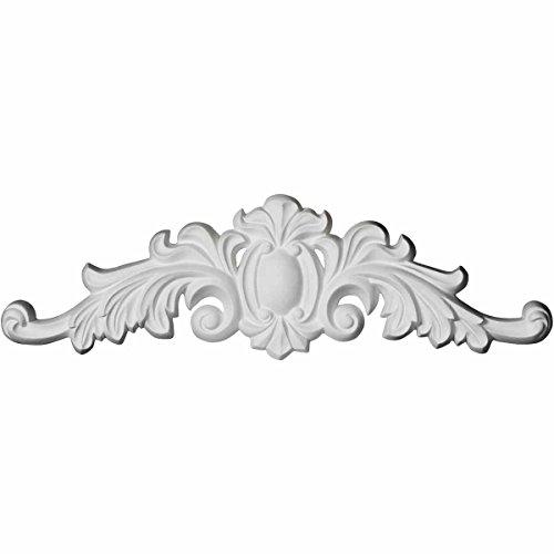 Ekena Millwork ONL16X04X01CO 16 1/8 inch W x 4 3/8 inch H x 3/4 inch P Cole Onlay, White by Ekena Millwork