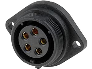 SP2113/S5 Socket Connector circular SP21 female PIN5 IP68 500V 30A WEIPU