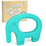 Baby Teething Toys - BPA Free Silicone - Easy to Hold,...