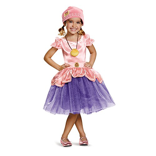 Disguise 85596M Izzy Tutu Deluxe Costume, Medium (3T-4T) (Jake Toddler Costume)