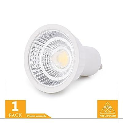 GU10 LED Bulbs 30W Equivalent, GU10 Not Dimmable LED Light 3 Watts, GU10 LED Spotlight with GU10 Base 120V 60 Degree Beam Angle 300 Lumens CRI 85+ 2700K 3000K 4000K 5000K