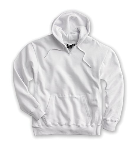 White Bear Clothing Co. Heavyweight Hoody (Style 1000) - Available in 18 Sizes: XXS-6XL, LT-6XT White