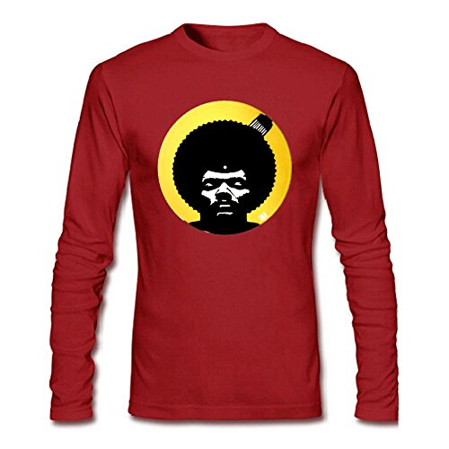 Libling Men's Pete Rock Symbol Long Sleeve T-Shirt Small Red