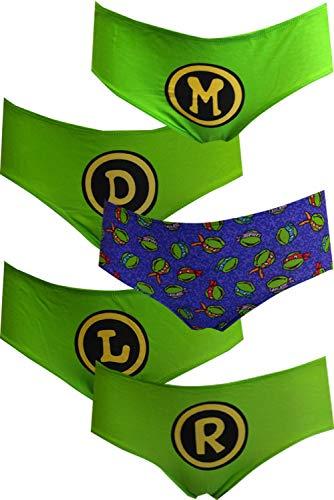 Teenage Mutant Ninja Turtles TMNT 5pk Panties (Large)]()