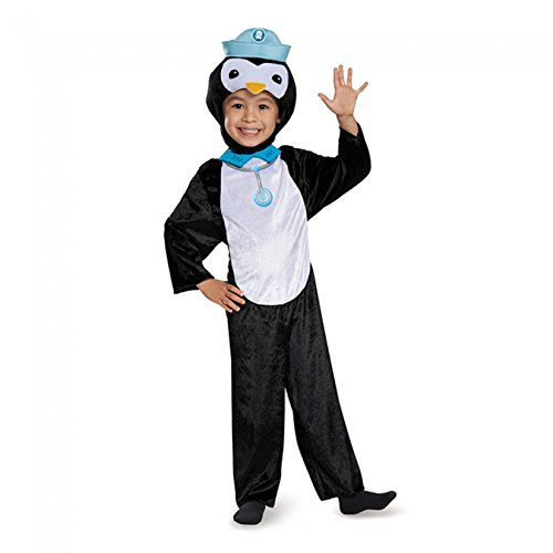 [Disguise Peso Penguin Classic Octonauts Silvergate Media Costume, Large/4-6] (Kitten Bear Costume)