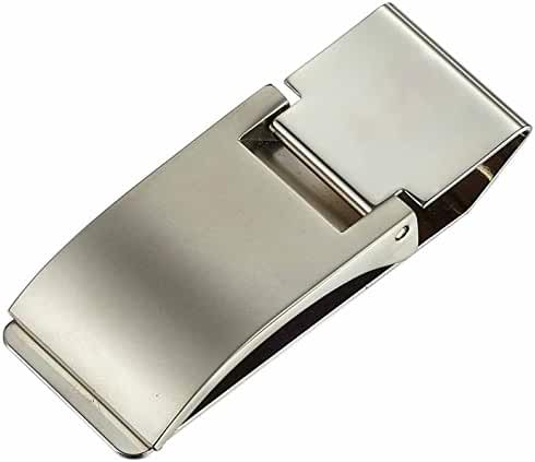 Visol Men's Capricorn Stainless Steel Money Clip