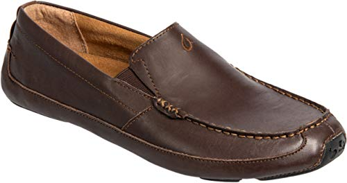 Chocolate Moc - OLUKAI Akepa Moc - Mens Comfort Shoe Chocolate/Chocolate - 9