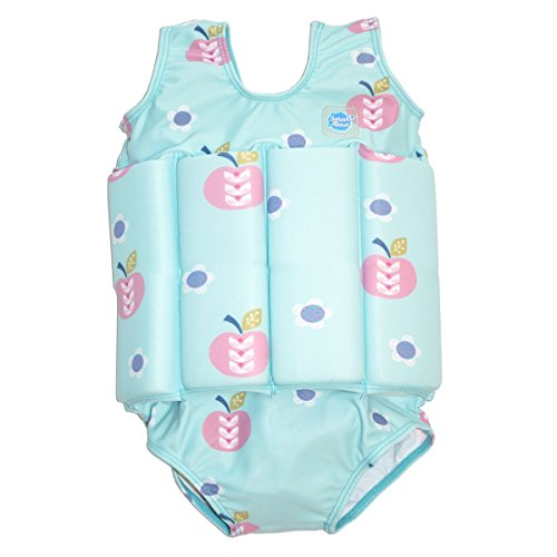 Splash About Collections Float Suit, Apple Daisy, 2-4 Years (Chest: 56cm, Length: 40cm)