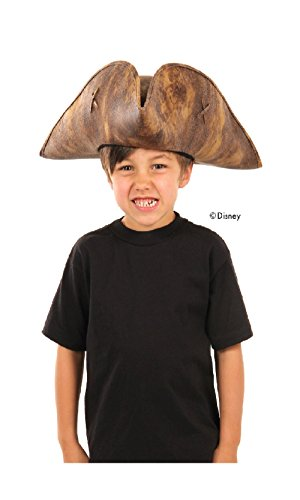 [Disney Pirates: Dead Men Tell No Tales Kids Jack Sparrow Hat by elope] (Kid's Jack Sparrow Hat)