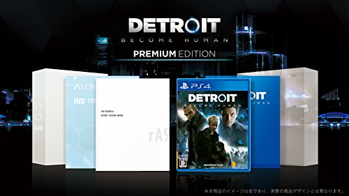 PS4 Detroit: Become Human Premium Edition Detroit Japan Game soft by ソニー・インタラクティブエンタテインメント (Image #8)