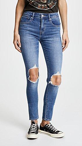 Levi Mujer nbsp;high La Indigo 721 Rise Rugged Distressed 's Jeans De Skinny RRnrqOx