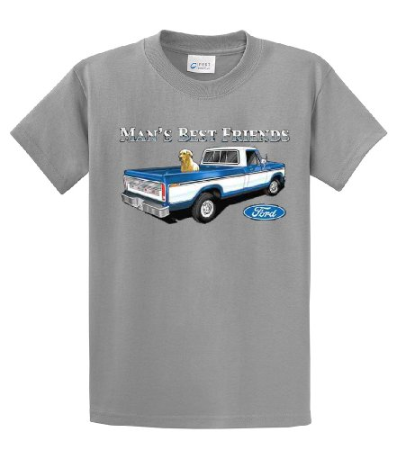 Ford T-Shirt Man's Best Friends-sportsgray-large
