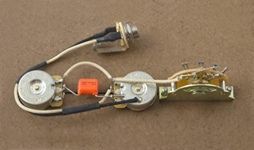 - Fender Telecaster Wiring Harness For Fender Tele-CTS-Orange Drop-Switchcraft