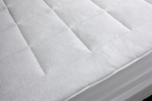 Rio Home Fashions Overfilled Super Soft Microplush King Mattress Pad