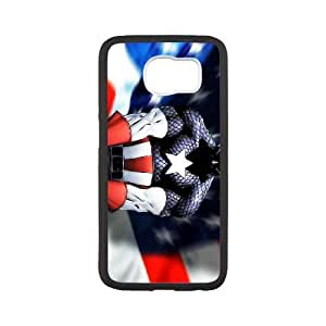 Samsung Galaxy S6 Cell Phone Case White Captain America Thwk