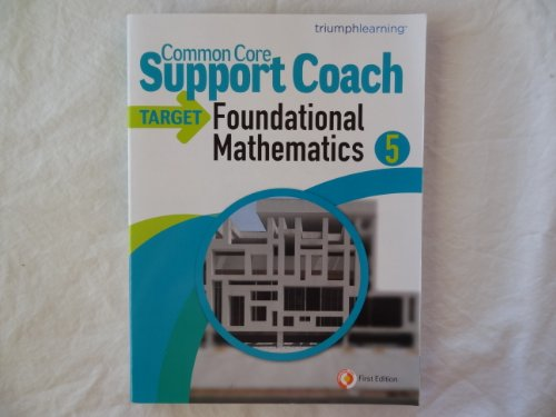Common Core Support Coach Target Foundational Mathematics Grade 5 by Dr. Jerry Kaplan (2010-05-04)