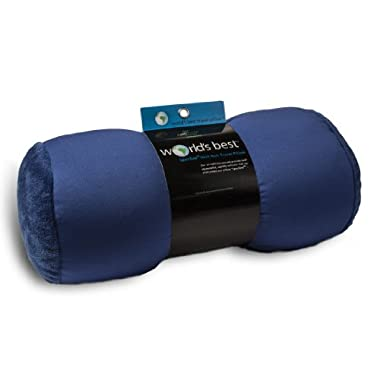 World's Best Air Soft Microbeads Tube Pillow, Royal