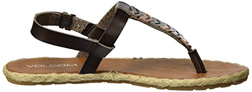 Brown Women's Gladiator Trails Braided Sandal Volcom wfPpTqx6
