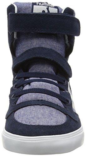 Hummel Slimmer Stadil Tie Dye Jr Hi - Zapatillas altas Unisex niños Azul - azul (Dress Blue 7459)