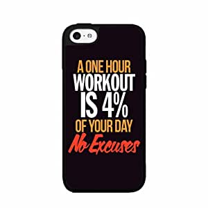 Fitness Quote - 2-Piece Dual Layer Phone Case Back Cover iPhone 5 5s