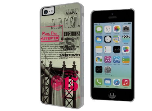 Master Case - Coque iPhone 5C Vintage Case - Brooklyn Bridge