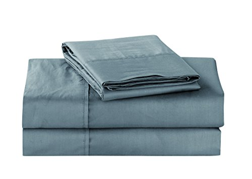 Unique Home Super Soft Microfiber 200 Count Grey Queen Sheets & Pillow Set