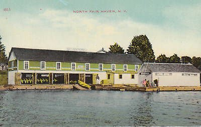 D4135 NY, Fair Haven Bay View Hotel Postcard