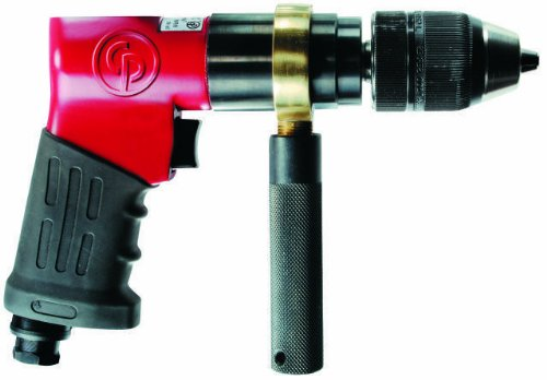 Chicago Pneumatic CP9791 Heavy Duty 1/2-Inch Reversible Drill, Keyless Chuck