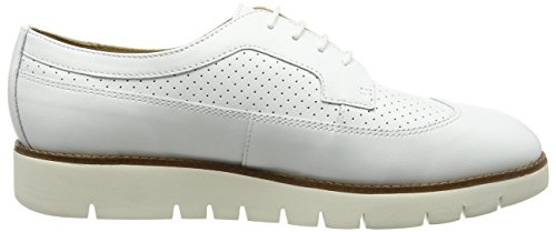 Geox Damen D Blenda Un Weiß Derby (whitec1000)
