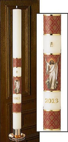 Will & Baumer No 6 Special Risen Christ Paschal Candle