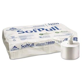 C-Sofpull Hi Cap 2Ply C-Pull T//T 925Sh Whi 6