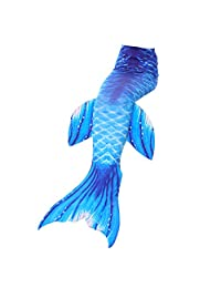 ChicChic Girls Mermaid Tail for Swimming Swimmable Swimsuit Beach Coverup Costume