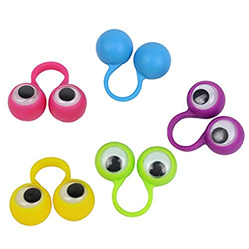 Ktyssp 25pcs Eye Finger Puppets Ring Eye Finger for Kids Party Favor Easter Toys from Ktyssp Toy