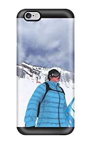New Snap-on ZippyDoritEduard Skin Case Cover Compatible With Iphone 6 Plus- Shaun White Snowboarding (3D PC Soft Case)