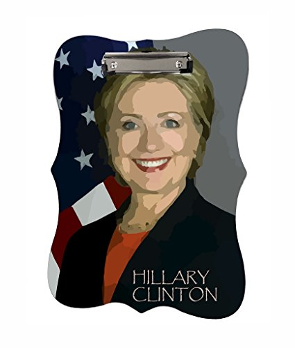Hillary Clinton - Jacks Outlet TM - Benelux Shape 2-Sided Hardboard - Outlets Clinton