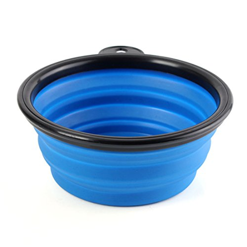 4 Colors Travel Pet Cat Dog Food Water Silicone Lightweight Bowl - Blog Bowl Super