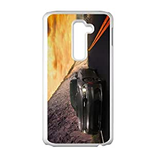 LG G2 Cell Phone Case , COOL CAR Theme Custom Phone Case