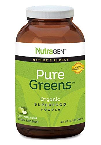 (NutraGen Pure Greens (Medium, Green Apple) )
