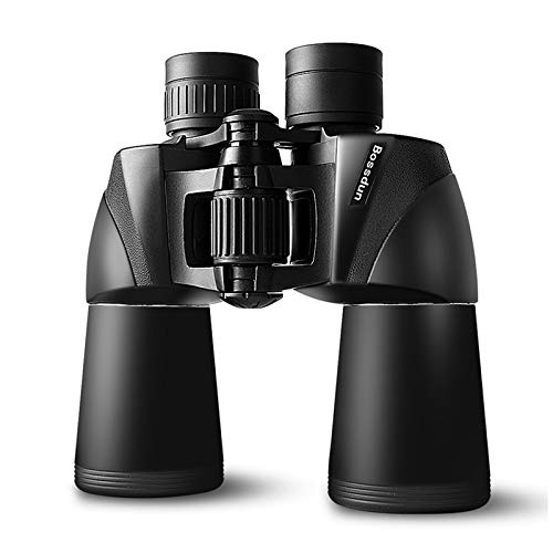 10x50 Binoculars for Adults, HD ProfessionalWaterproof Fogproof Binoculars with Low Light Night Vision, Durable and Clear FMC BAK4 Prism Lens, for Birds Watching Hunting Traveling Outdoor Sports