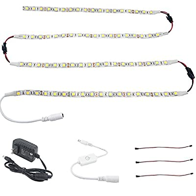 Bonlux Flexible Under Cabinet Strip LED Lighting Kit