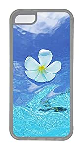 The Water Wave Flower Cases For iPhone 5C - Summer Unique Cool 5c Cases