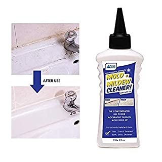 Skylarlife Home Mold & Mildew Remover Gel Stain Remover Cleaner Wall Mold Cleaner for Tiles Grout Sealant Bath Sinks Showers