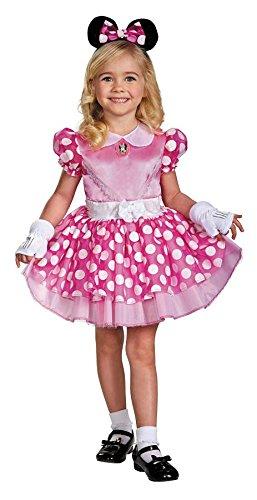 Pink Minnie Classic Tutu Costume, X-Small (3T-4T)