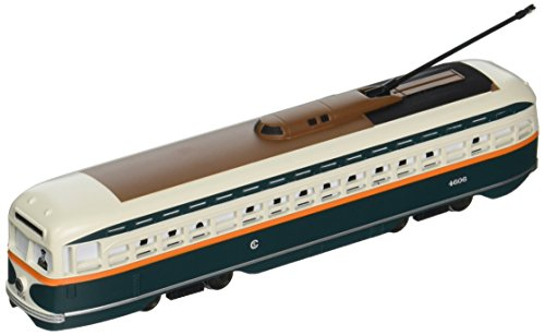 Bachmann Chicago PCC Streetcar with Sparking Trolley Pole ()