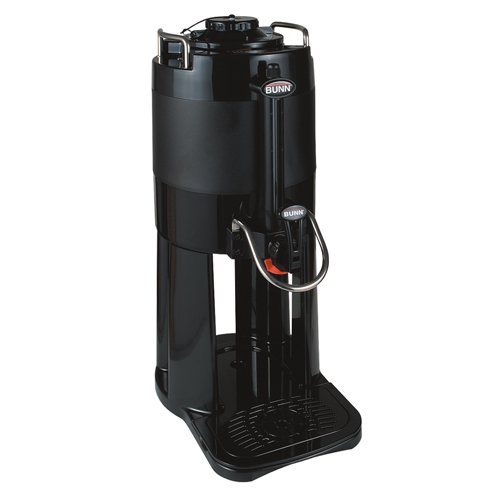 1 Gallon ThermoFresh Coffee Server (Black Décor) (Thermofresh 1 Gallon Server)