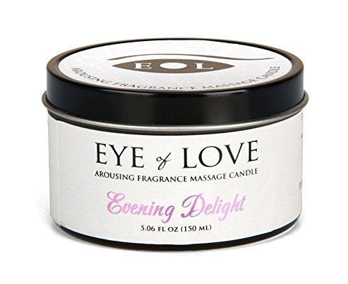 Soirée plaisir par les yeux d'amour meilleur phéromone Massage huile bougie, beurre de karité pour attirer les hommes, 5 oz fo 150 ml