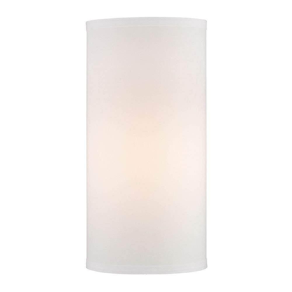 SUNWO Candle Holder, Frosted Glass Chimney for Candle Open Ended, Frosted Glass Hurricane Candle Holders of Any Size 4x18
