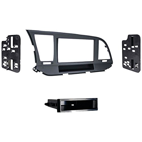 Metra 99-7376B Single DIN Dash Kit For 2017-Up Hyundai Elantra by Metra