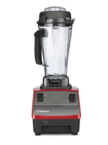 Vitamix Two Speed Blender, Red (Certified Refurbished)