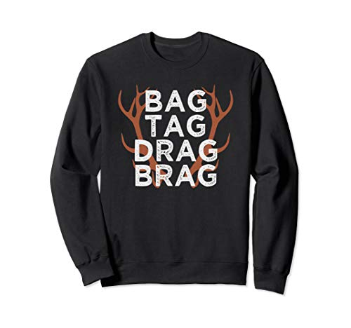 (Hunter Gift Hunting Sweatshirt Deer Bowhunter Shirt)